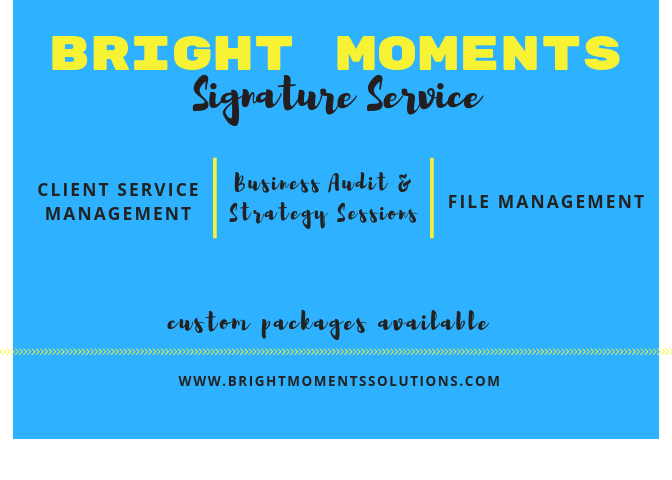 BMS Signature Service List No pricing (5.19)