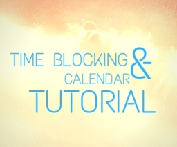Time Blocking Tutorial free button